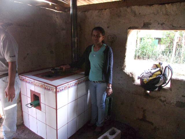 Ecofogon in eine Hütte