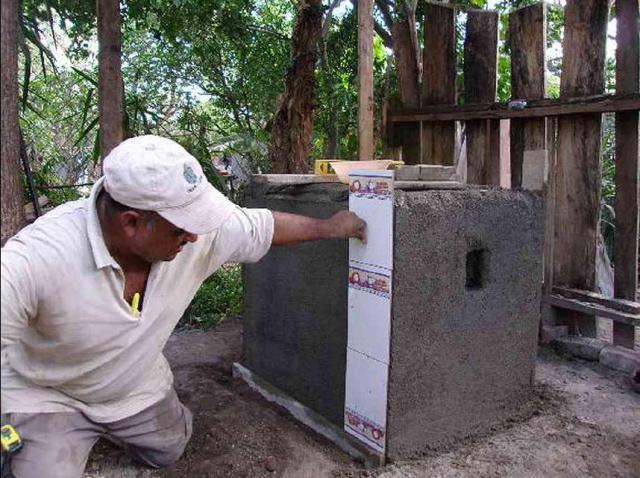Ecofogon im Bau